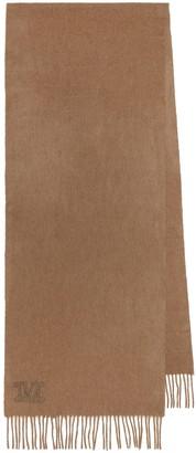 Max Mara Cleli camel-wool scarf