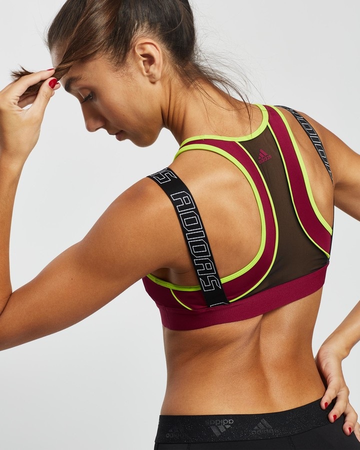 adidas Women's Purple Crop Tops - Don't Rest Sport Hack Bra - Size S at The Iconic