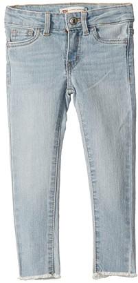 Levi's(r) Kids 710 Ankle Super Skinny (Little Kids) (Sixteen) Girl's Jeans