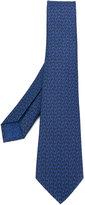 Bulgari micro spider printed tie - men - Silk - One Size