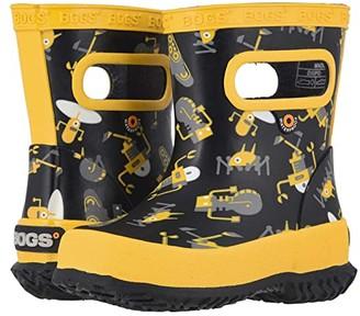 Bogs Skipper Robots (Toddler/Little Kid) (Black Multi) Kids Shoes