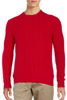 Black Brown 1826 Cashmere Cable-Knit Sweater