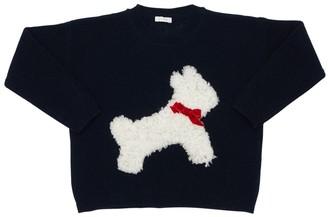 Il Gufo Embellished Wool Knit Sweater