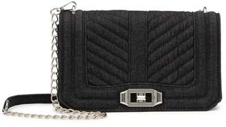 Urban Expressions Chevron Quilted Crossbody Bag