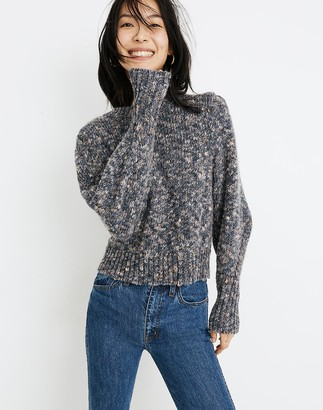 Madewell Pleat-Shoulder Pullover Sweater