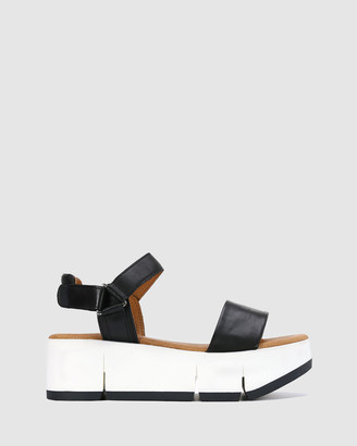 EOS Women's Black Sandals - Pallos - Size One Size, 39 at The Iconic
