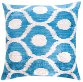 Found Object Hand-Woven Ikat Pillow