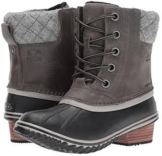 Sorel Slimpack II Lace (Quarry/Black) Women's Waterproof Boots