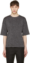 Jil Sander Grey Drop Shoulder T-Shirt