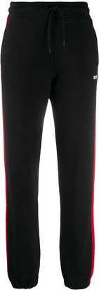 MSGM Side-Panel Tapered Track Pants