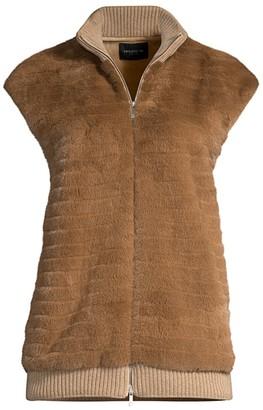 Lafayette 148 New York Larkin Fur Vest