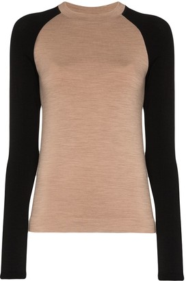Ernest Leoty Albane two-tone merino wool top