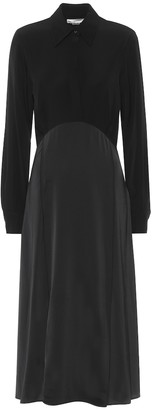 Victoria Victoria Beckham Satin-crepe midi dress