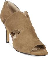 Adrienne Vittadini Gerlinda Peep-Toe Sandals