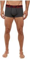 Emporio Armani Striped Logo Band Trunk Men's Underwear