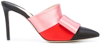 Paul Andrew colour block bow mules