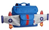 Bixbee Boy's 'Rocketflyer' Water Resistant Backpack - Blue