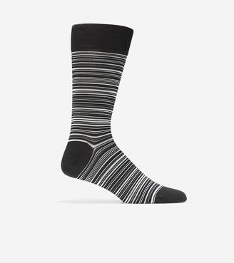 Cole Haan Multi Stripe Crew Socks