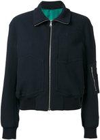 Paul Smith multi-pockets bomber jacket - women - Cotton/Polyamide/Polyester/Cupro - 38