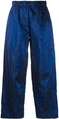 Daniela Gregis Creased Pull-On Trousers