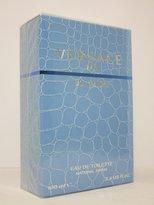 Versace Man Eau Fraiche Eau De Toilette Spray (Blue) 3.4 Oz For Men