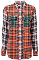 Equipment plaid shirt