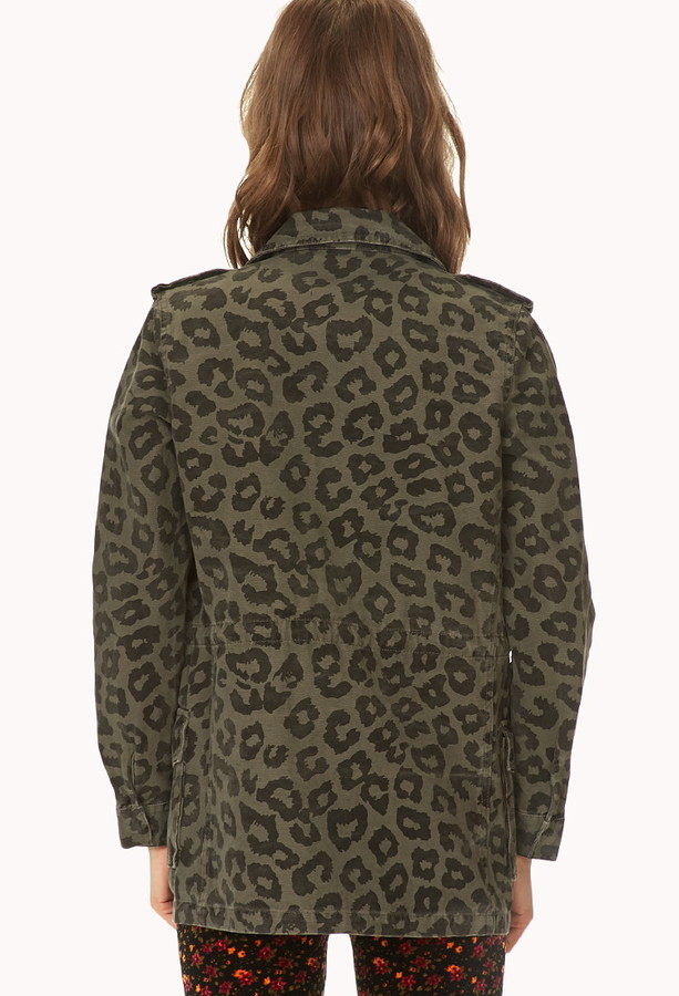 Forever 21 Call Of The Wild Utility Jacket