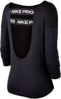 Nike Pro Training Elastika LS Top - Black