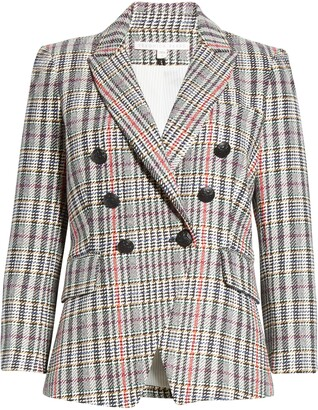 Veronica Beard Empire Tweed Dickey Jacket