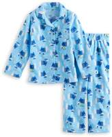 Jammies For Your Families Toddler Boy Jammies For Your Families Hanukkah Polar Bear Button-Front Top & Bottoms Pajama Set