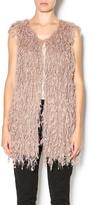 Entro Shag Knit Vest