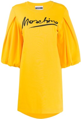 Moschino logo-print T-shirt dress