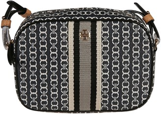 Tory Burch Gemini Link Canvas Mini Shoulder Bag