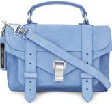 Proenza Schouler Ps1 tiny suede satchel