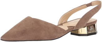 Adrienne Vittadini Footwear Women's Franny Loafer Flat Taupe-ks 5.5 M US