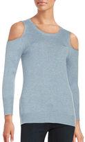 T Tahari Cold Shoulder Sweater