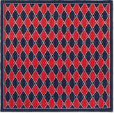 Gucci rhombus print pocket square