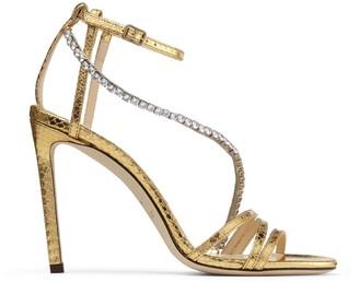 Jimmy Choo Thaia Crystal Embellished Sandals