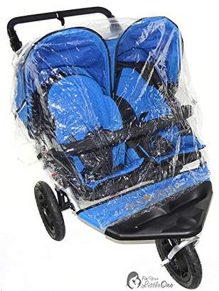 N. Raincover Compatible with Out About Nipper Double Twin Pushchair (213)