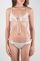 For Love & Lemons Ivory Bikini Set