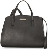 Nine West Black Edith Convertible Satchel