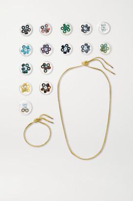 Carolina Bucci Forte Beads 18-karat Gold And Multi-stone Gift Set