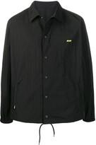 MSGM logo detail coach jacket