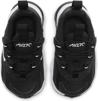 Nike Air Max 270 React Infant Trainers - Black/White