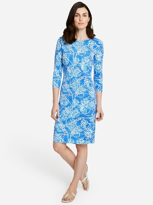 J.Mclaughlin Sophia Dress in Sanibel Rope