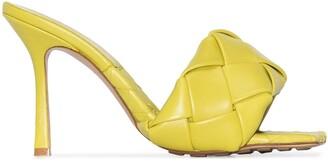 Bottega Veneta Lido woven-strap 90mm sandals