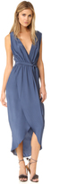 Amanda Uprichard Sleeveless Porter Maxi Dress