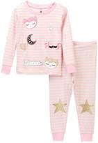 Petit Lem Princess Owl Sleep Pajama Set (Baby Girls)