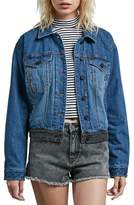 Volcom 1991 Colorblock Denim Jacket