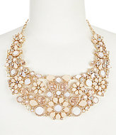 Kate Spade At First Blush Mother-of-Pearl Statement Necklace